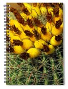 Yellow Cactus Spiral Notebook