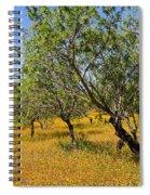 Yellow Carpet Spiral Notebook
