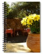 Yellow Chrysanthemum  Spiral Notebook