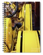 Yellow Classic Spiral Notebook