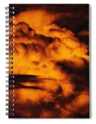 Clouds Time Spiral Notebook