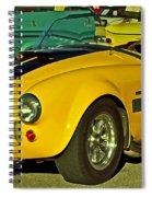 Yellow Cobra Spiral Notebook