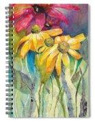 Yellow Coneflower Spiral Notebook
