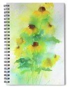 Yellow Coneflowers  Spiral Notebook