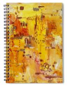 Yellow Conundrum Spiral Notebook