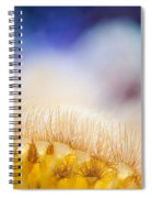 Yellow Coral Reef Macro Spiral Notebook