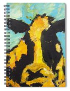 Yellow Cow Spiral Notebook