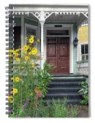 Yellow Daisies In Charleston Spiral Notebook