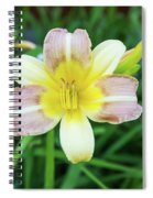 Yellow Daylily Spiral Notebook