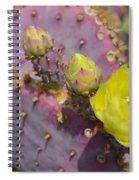 Yellow Desert Bloom Spiral Notebook