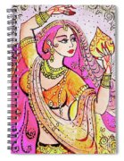 Yellow Devi Spiral Notebook
