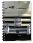 Yellow Dodge Spiral Notebook