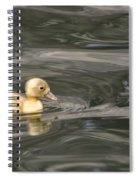 Yellow Duckling Spiral Notebook
