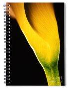 Yellow Essence Spiral Notebook