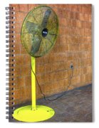 Yellow Fan Spiral Notebook