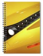 Yellow Ferrari 2013 Spiral Notebook