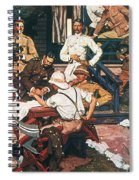 Yellow Fever, Cuba, C1900 Spiral Notebook