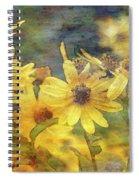 Yellow Flower View 4851 Idp_2 Spiral Notebook