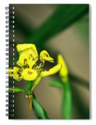 Yellow Flowers I Spiral Notebook