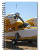 Yellow Goose Spiral Notebook