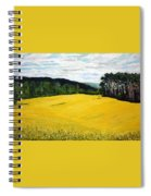 Yellow Ground Spiral Notebook