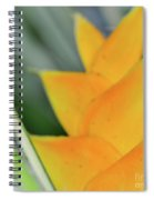 Yellow Heliconia - Hawaii Plants Flowers  Spiral Notebook