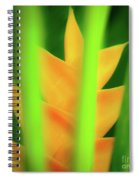 Yellow Heliconia - Tropical Hawaii - 957 Spiral Notebook