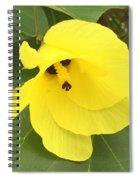 Yellow Hibiscus Spiral Notebook