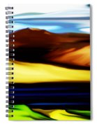 Yellow Hills Spiral Notebook