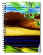 Yellow Hills Revisited Spiral Notebook