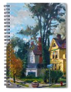 Yellow House Spiral Notebook