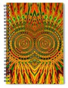 Yellow Is Not Black Spiral Notebook