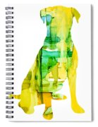 Yellow Lab Spiral Notebook