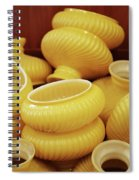 Yellow Lampshades Spiral Notebook