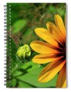 Yellow Legs Spiral Notebook