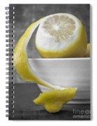Yellow Lemons Spiral Notebook