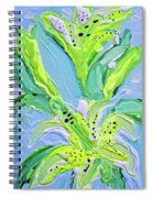 Yellow Lilys Spiral Notebook