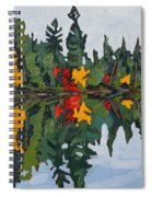 Yellow Maples Spiral Notebook