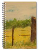 Yellow Meadow  Spiral Notebook