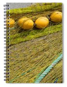 Yellow On Lime Spiral Notebook