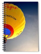 Yellow Pages Balloon Spiral Notebook