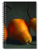 Yellow Pears Spiral Notebook