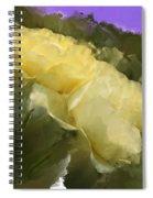 Yellow Pitch Spiral Notebook