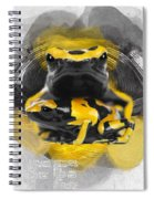 Yellow Poison Dart Frog No 04 Spiral Notebook