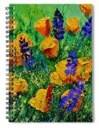 Yellow Poppies 560190 Spiral Notebook