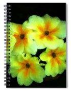 Yellow Primrose 5-25-09 Spiral Notebook