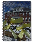 Yellow Ribbons At Groveton Elementary  Spiral Notebook
