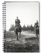 Yellow Riders On Horseback Near Arnhem Spiral Notebook