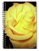 Yellow Rose For Friendship Spiral Notebook