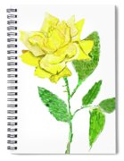 Yellow Rose, Painting Spiral Notebook